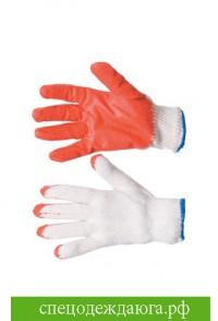 Перчатки х/б с латексным покрытием высший сорт