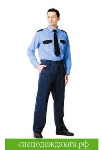 Рубашка охранника с длинными рукавами