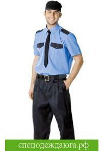 Рубашка охранника с короткими рукавами