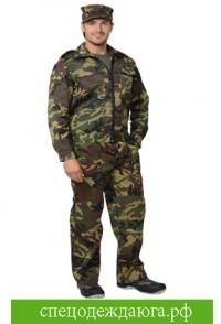 """Костюм """"ВЫМПЕЛ"""": куртка, брюки  КМФ зеленый"""